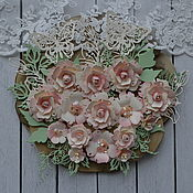 Материалы для творчества handmade. Livemaster - original item handmade flowers . Cutting for scrapbooking .. Handmade.