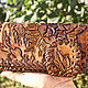 Wallets & Business Card Holders handmade. Livemaster - handmade. Buy Leather wallet Carp Koi.Clutch, purse female