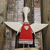 Елочные игрушки ручной работы. Ярмарка Мастеров - ручная работа Елочные игрушки:Рождественский  Ангел. Handmade.
