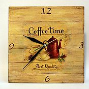"""Для дома и интерьера ручной работы. Ярмарка Мастеров - ручная работа """"Время пить кофе"""". Handmade."""