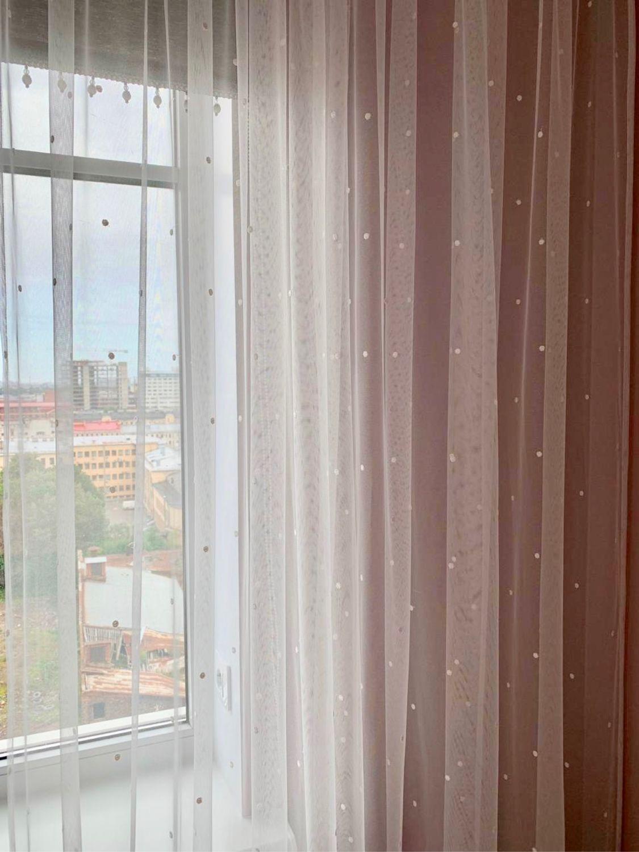 Тюль Горошки на Окошки, Занавески, Санкт-Петербург, Фото №1