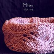 Аксессуары handmade. Livemaster - original item Scarf - Snood knitted Lilac.. Handmade.