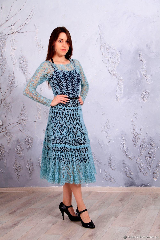 Платье из мохера фото макро- микроорганизм