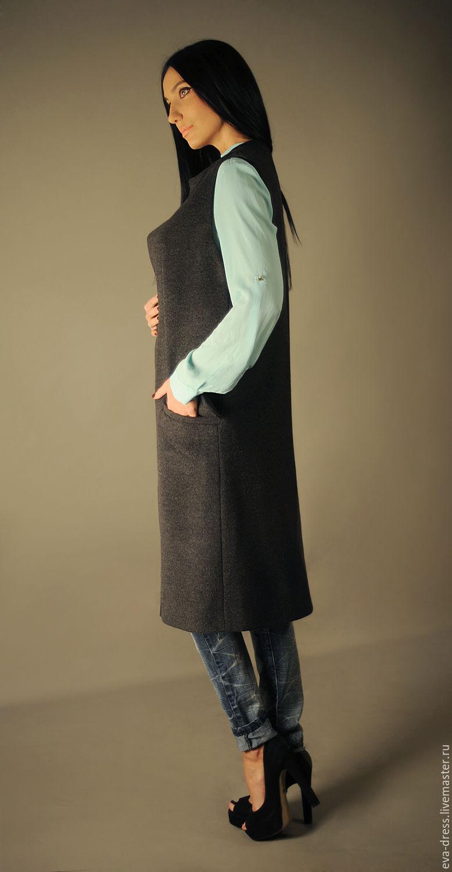Сшить длинный жилет без рукавов своими руками фото 354