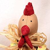 Куклы и игрушки ручной работы. Ярмарка Мастеров - ручная работа Петух - символ года. Handmade.