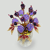 Цветы и флористика handmade. Livemaster - original item Flowers from amethyst