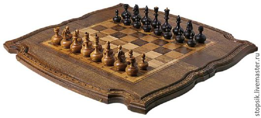 Настольные игры ручной работы. Ярмарка Мастеров - ручная работа. Купить Шахматы, нарды, шашки Пахлава (38180). Handmade. Коричневый