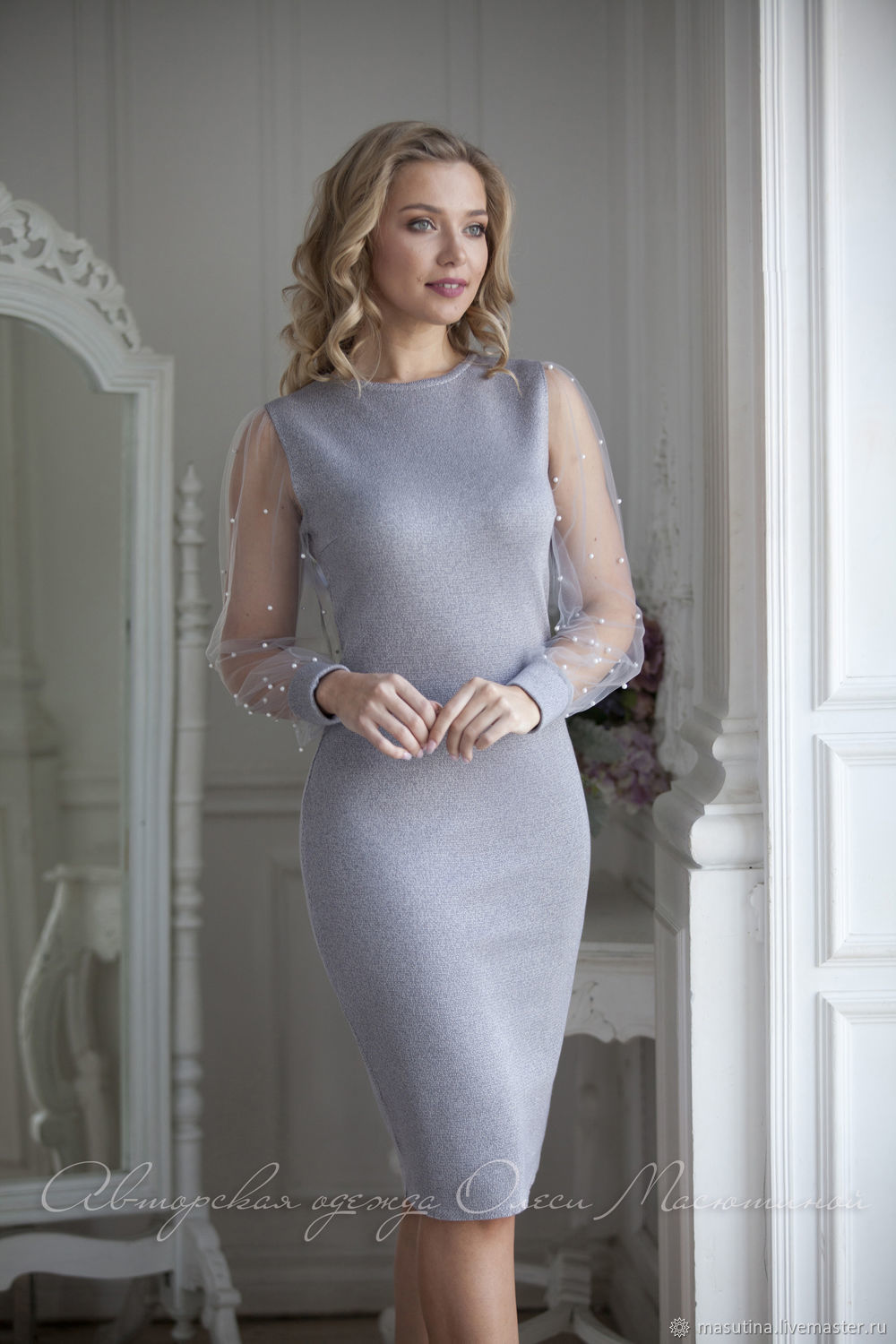 Dress 'a Scattering of pearls', Dresses, St. Petersburg,  Фото №1