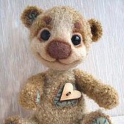Куклы и игрушки ручной работы. Ярмарка Мастеров - ручная работа Вязанный мишка Сёма. Handmade.