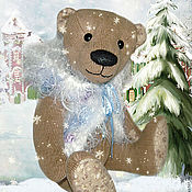 Куклы и игрушки ручной работы. Ярмарка Мастеров - ручная работа Рождественский гном. Handmade.