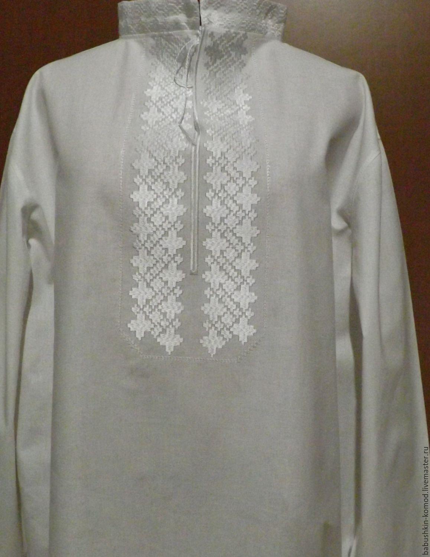 Men's embroidered shirt MP3-61, Mens shirts, Temryuk,  Фото №1