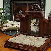 """Домик для питомца ручной работы. Ярмарка Мастеров - ручная работа Кровать для животных """"VictorianEngland"""". Handmade."""
