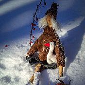Куклы и игрушки ручной работы. Ярмарка Мастеров - ручная работа Кэйа с гусем. Handmade.