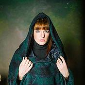 Одежда ручной работы. Ярмарка Мастеров - ручная работа Куртка -пальто с капюшеном. Handmade.