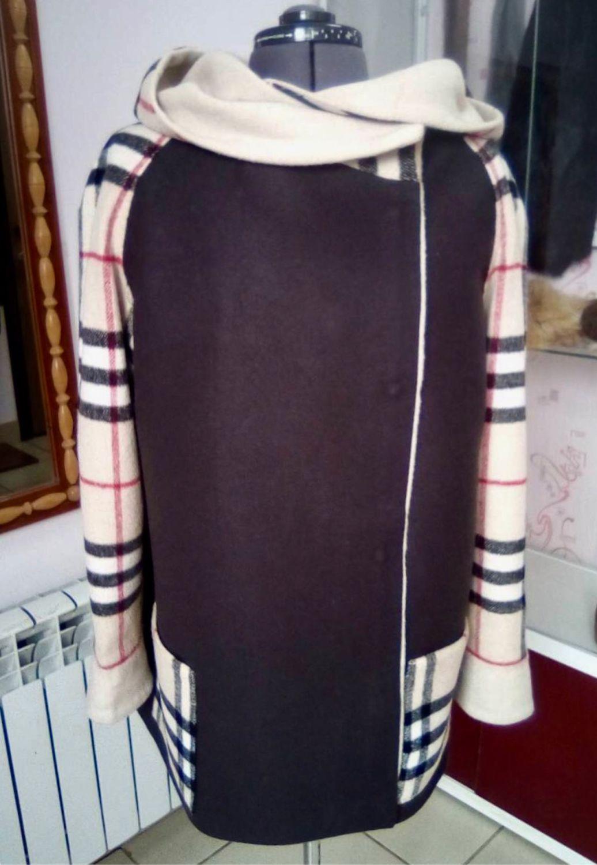 a0f0e22acf2e ручной работы. Ярмарка Мастеров - ручная работа. Купить Модное пальто в  стиле Burberry. ...