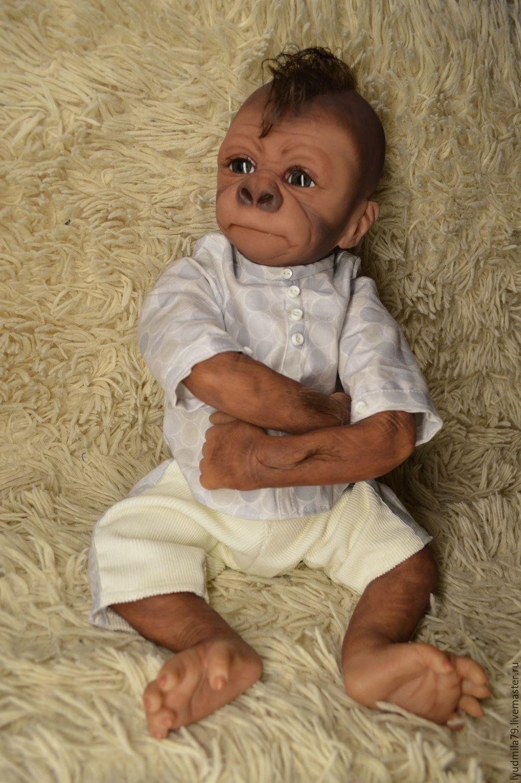 Reborn Monkey Gorilla Pearl Kiwi Gorilla By Denise