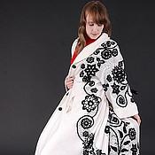 """Одежда ручной работы. Ярмарка Мастеров - ручная работа Пальто""""Белое-черное"""". Handmade."""