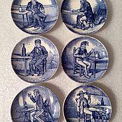 Посуда ручной работы. Ярмарка Мастеров - ручная работа Тарелочки в футляре, Maastricht, Голландия.. Handmade.
