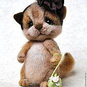 """Куклы и игрушки ручной работы. Ярмарка Мастеров - ручная работа """"Алиска"""" кошечка. Handmade."""