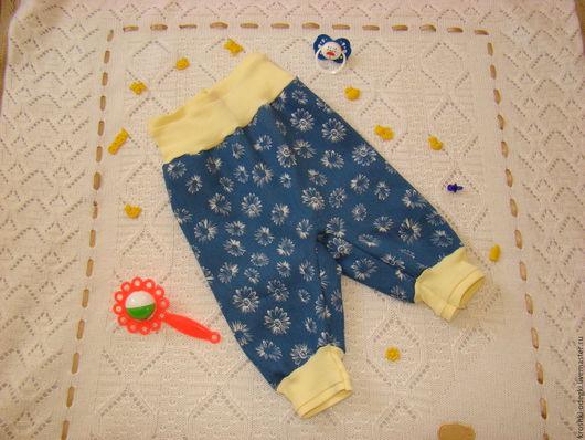 Одежда ручной работы. Ярмарка Мастеров - ручная работа. Купить Штанишки джинсики. Handmade. Комбинированный, джинса
