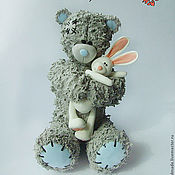 Куклы и игрушки handmade. Livemaster - original item teddy bear. interior toy. Clay claycraft by deco. Handmade.