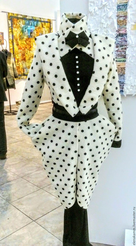 9ea6463354ad Верхняя одежда ручной работы. Ярмарка Мастеров - ручная работа. Купить  Стильное платье-пальто ...