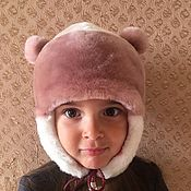 Аксессуары handmade. Livemaster - original item Children`s fur hat. Handmade.