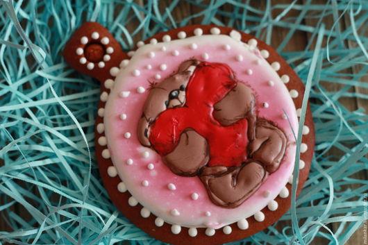 Подарок на новый год. Вкусный и ароматный имбирный пряник порадует Ваших близких. Может стать неповторимой елочной игрушкой)