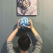 Для дома и интерьера ручной работы. Ярмарка Мастеров - ручная работа Подушка-узел mini. Handmade.