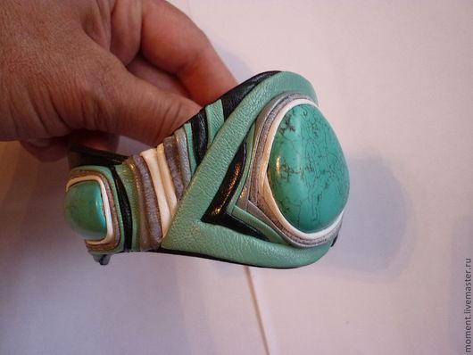Браслеты ручной работы. Ярмарка Мастеров - ручная работа. Купить браслет. Handmade. Авторские украшения, тёмно-бирюзовый