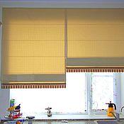 Для дома и интерьера handmade. Livemaster - original item Sewing Roman blinds. Handmade.