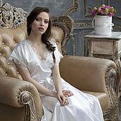 Одежда ручной работы. Ярмарка Мастеров - ручная работа Будуарное платье для утра невесты. Handmade.