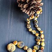 Украшения handmade. Livemaster - original item Beads from the Kaliningrad amber. Handmade.