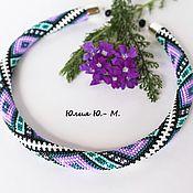 Украшения handmade. Livemaster - original item Necklace Isabelle, harness beaded. Handmade.