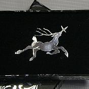 """Кулон ручной работы. Ярмарка Мастеров - ручная работа Кулон: Кулон """"Северный олень"""". Handmade."""