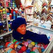 Одежда ручной работы. Ярмарка Мастеров - ручная работа Комплект берет и шарф. Handmade.