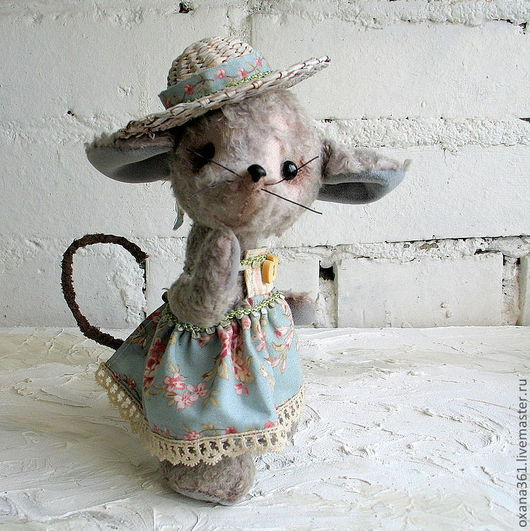 """Мишки Тедди ручной работы. Ярмарка Мастеров - ручная работа. Купить Друзья Тедди """"Мышь Мара"""". Handmade. Друзья тедди"""
