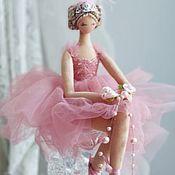 Куклы и игрушки handmade. Livemaster - original item Ballerina Pink Soft. Handmade.