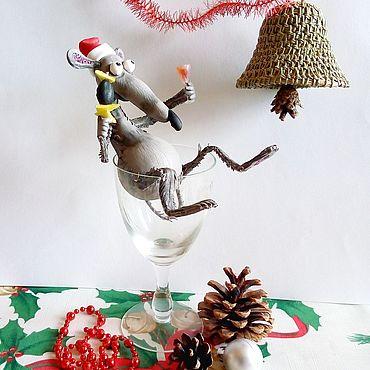 Куклы и игрушки ручной работы. Ярмарка Мастеров - ручная работа Игрушки: Крыс- искуситель. Handmade.