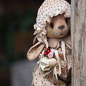 Куклы и игрушки ручной работы. Ярмарка Мастеров - ручная работа Зайка карамелька.. Handmade.