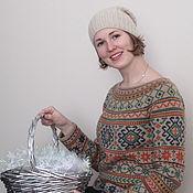 Одежда ручной работы. Ярмарка Мастеров - ручная работа Свитер по мотивам Anatolia. Handmade.