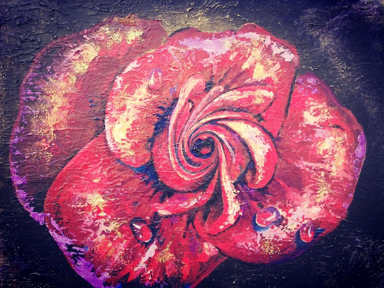 """Картина маслом """"Роза"""", Картины, Туапсе,  Фото №1"""