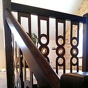 Для дома и интерьера ручной работы. Ярмарка Мастеров - ручная работа Витражные элементы для лестницы. Handmade.