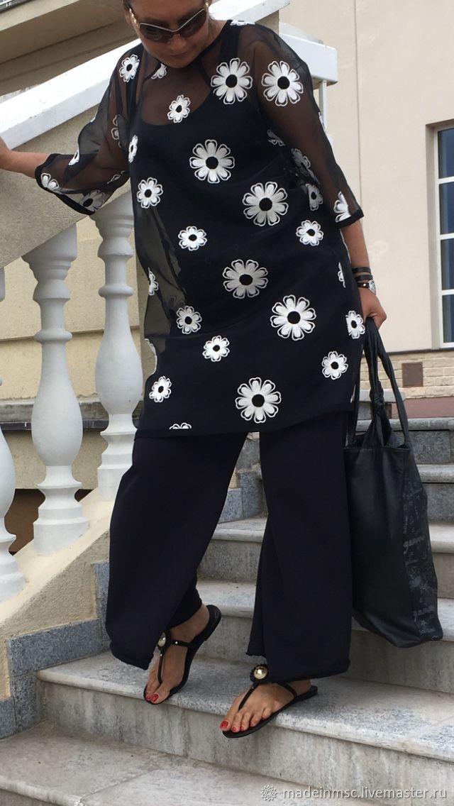 Платье Туника чёрный, Туники, Москва,  Фото №1