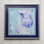 Картины и панно ручной работы. Ярмарка Мастеров - ручная работа живопись на воде 5. Handmade.