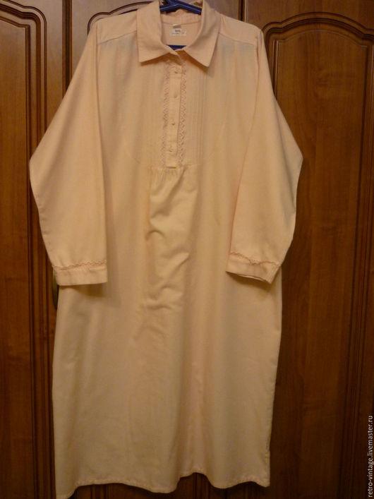 Одежда. Ярмарка Мастеров - ручная работа. Купить Ночная сорочка Луиза.. Handmade. Ночная сорочка, белье женское, хлопок