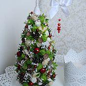 """Подарки к праздникам ручной работы. Ярмарка Мастеров - ручная работа Новогодняя елочка """" Красные яблочки"""". Handmade."""