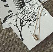 Украшения ручной работы. Ярмарка Мастеров - ручная работа Кулон №6 серебро 925 минимализм. Handmade.