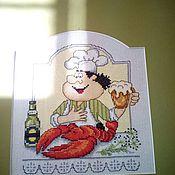 Картины и панно ручной работы. Ярмарка Мастеров - ручная работа Вышивка крестом для кухни. Handmade.