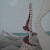 """Картины и панно ручной работы. Ярмарка Мастеров - ручная работа """"Параллельные миры"""". Handmade."""
